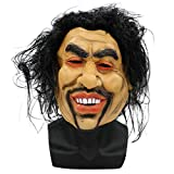 GXDHOME Latex Kopf Masken, Halloween Horror Simulation Sharp Bruder Bettler Kostüm Scary Creepy Fancy Dress