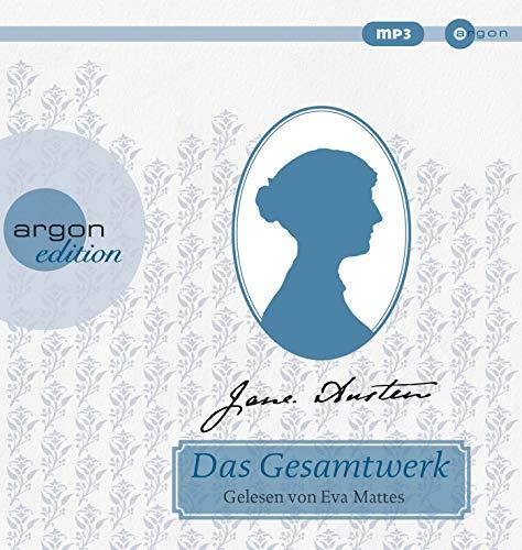 Jane Austen - Das Gesamtwerk: Inhalt: Verstand und Gefühl, Stolz und Vorurteil, Mansfield Park, Emma, Northanger Abbey, Überredung, Lady Susan Audio-kuppel