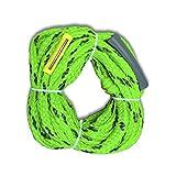 ostoutdoor hinchable para esquí acuático de esquí cuerda de remolque, máxima para cuatro Rider o 680libras, PP Material, verde Color, longitud 60pies (18,3m)