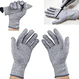 Lemish Cut Resistant Gloves - High Performance Level 5 Protection, Food Grade