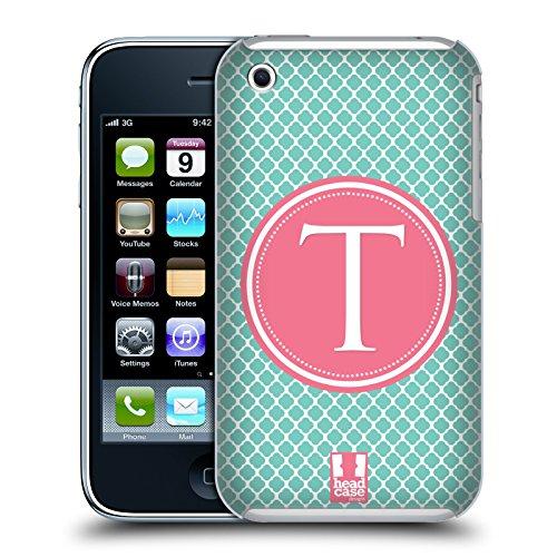 Head Case Designs Lettera R Lettere Cover Retro Rigida per Apple iPhone 7 / 8 Lettera T