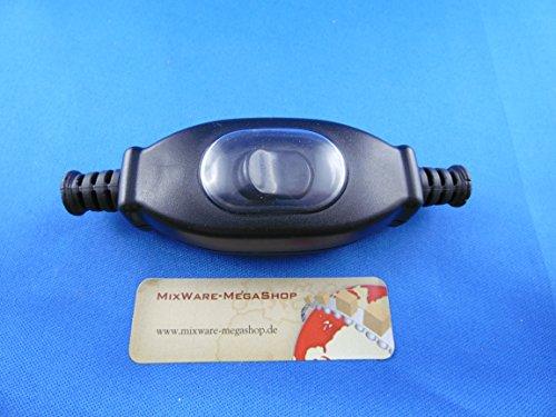 Zwischenschalter Schwarz IP65 2-polig 3 A 250 V~ Paßt für LED SMD