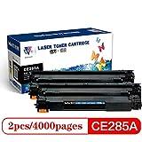 XUE-shelf Sostituzione Compatibile Cartuccia di Toner per HP 285A CE285A 85A P1102 P1102W Laserjet PRO M1130 M1132 M1134 M1212 MF 3010