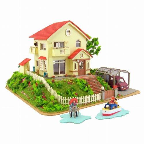 1/150 Sosuke Ponyo House Ponyo on a Cliff By the Sea Mk07-08 [Toy] (japan import)