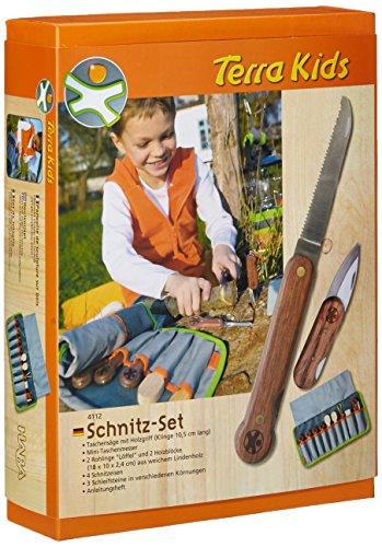 4112 - HABA - Terra Kids großes Schnitz-Set