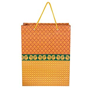 Landmark Marketing Paper Bags - Pack of 15. Perfect for Gifting on Weddings, Birthday and Festive Occasions (LM1111).