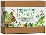 Sow Lush Set de Cultivo de Semillas para Ensalada «Scrumptious Fresh Salad», Ideal como Regalo 6 variedades deliciosas para Cultivar por uno Mismo y cosechar Durante Todo el Verano.