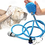 JTLXYG Haustier-Badewerkzeug, Beauty-Badewanne, Massage-Bürste, Verstellbare Handbrause, Handbrause