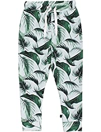 Fred's World by Green Cotton Palm Sweat Pants Baby, Pantalones Unisex Bebé
