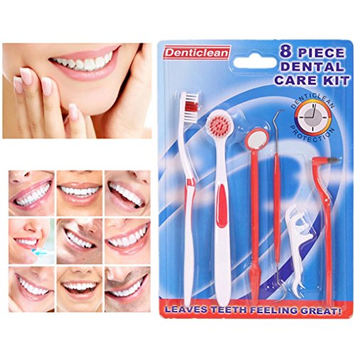 Teeth Cleaning Kit, Kolylong 8pc...