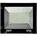 Mld Ultra Slim 200W Led Flood Light Focus Pure Cool White Ac Outdoor Waterproof Ip65