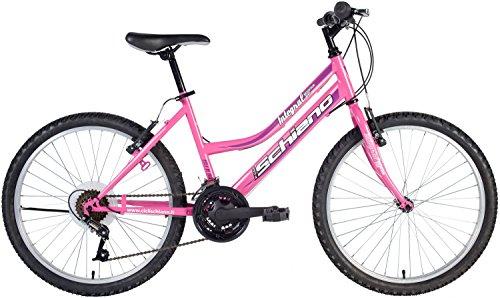 F.lli schiano power, bicicletta mtb donna, viola/bordeaux, xl