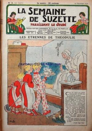 SEMAINE DE SUZETTE (LA) [No 5] du 29/12/...