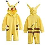 Pikachu Pokemon juego de bebé Pelele de Boy parte disfraz/disfraz/disfraz de reproducción amarillo Talla:18-24 meses