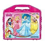 Clementoni- Princess Puzzle Cubi, 12 Pezzi, 41181
