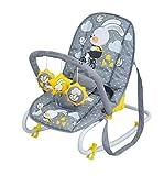 Lorelli Top Relax-Liegeschaukel für Babys grau