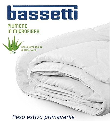 Sacco Per Piumino Matrimoniale Bassetti.Piumino Leggero Bassetti In Microfibra Matrimoniale Con Microcapsule