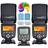 Yongnuo YN560IV Flash Speedlite + YN560 TX C sans fil contrôleur de flash et commandant pour Canon EOS Digital slr camera