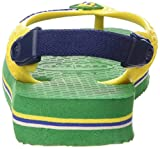 Havaianas Baby Brasil Logo, Unisex Baby Flip Flops, Green (Green 2703), 8/9 Child UK (25/26 BR) (27/28 EU) Bild 2