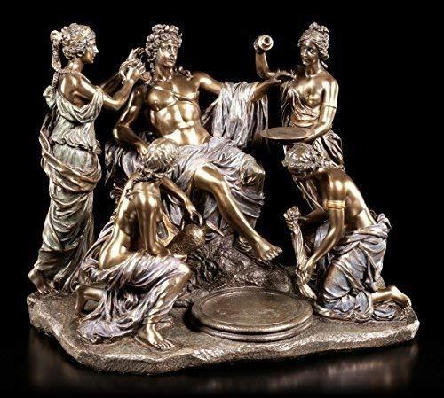 Apollon und die Nymphen Figur nach François Girardon | Veronese Bronze-Optik Statue Götter griechische Mythologie