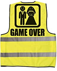 Idea Regalo - Bombo Gilet Addio al Celibato Game Over.