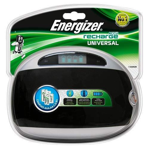 Energizer Universal-Ladegerät-1Stück (Energizer Akku-ladegerät 9v)