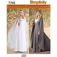 Simplicity 7749.U5 - Patrones de costura para disfraces históricos