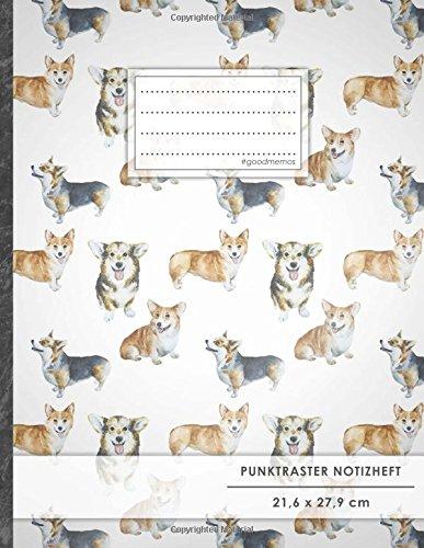 Tagebuch Stift-set Und (Punktraster Notizbuch • A4-Format, 100+ Seiten, Soft Cover, Register,