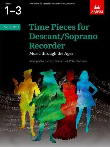 time-pieces-for-descant-soprano-recorder-volume-1-v-1-time-pieces-abrsm