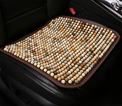 DIELIAN Natural Holzkugel Sitzauflage Cool Comfort Kissen - Reduziert Ermüdung Das Auto Oder LKW Oder Ihr Büro Stuhl,C