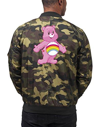 Old Rainbow Bear Bomberjacke Camouflage Certified Freak-XL