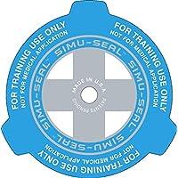 SIMU-SEAL - Chest-Seal für eine realistische Verwundetenversorgung (blau) Doppelpackung┇The practice Chest Seal... preisvergleich bei billige-tabletten.eu