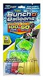 Zuru Bunch O Balloons Instant 100 Self-Sealing Water Balloons Complete Gift Set Bundle - 3 Pack (300 Balloons Total)