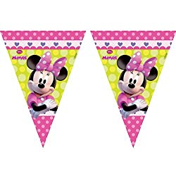 Amscan Minnie Mouse Bow-tique Flag Banner 81648