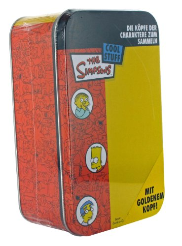 Universal Cards Dracco dr03450 Simpsons Têtes Tin