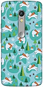 Snoogg Cute Puppy Designer Protective Back Case Cover For Motorola Moto X Play