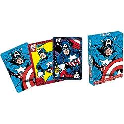 Marvel- Capitán América Comics Playing Cards Deck