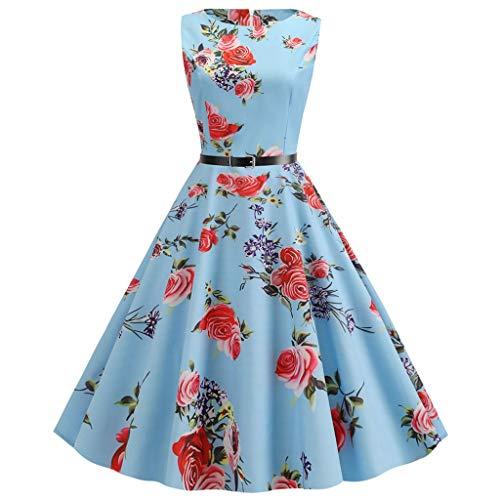 A Und H Kostüm Mieten - Auiyut Damen Kleid 50er Elegant