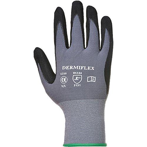 Portwest Unisex Dermiflex Glove Black
