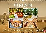 OMAN - Herz der Weihrauchstraße (Wandkalender 2016 DIN A3 quer): Eine Reise durch das legendäre Sultanat (Monatskalender, 14 Seiten) (CALVENDO Orte)
