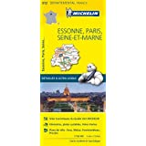 ESSONNE / PARIS / SEINE 11312 CARTE ' LOCAL ' ( France ) MICHELIN KAART