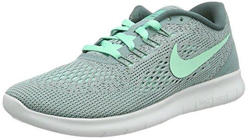 Nike Damen Free RN Laufschuhe, Grau (Cannon/Hasta/Off Weiß/Grünes Glühen), 36 EU