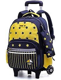 RYC Cadeaux Scolaire Backpack Sac à Dos Enfant en Nylon Cartable à Dos  Scolaire Fille Ecole Loisir Voyage Primaire Maternelle 30   14  … 0d0548a6714a