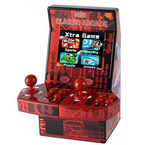 Goolsky Actualizada Mini Classic Arcade Game Cabinet Machine Doble Joystick Retro Handheld Player con built-in 183 Juegos