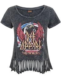 Def Leppard Womens Fringe T-Shirt