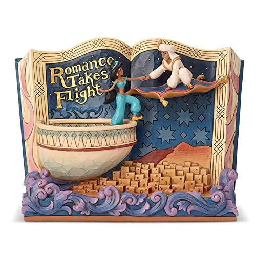 Disney Traditions Romance nimmt Flug Aladdin Storybook Figur -