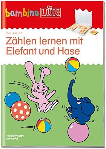 bambinoLÜK. Zählen lernen mit Elefant und Hase