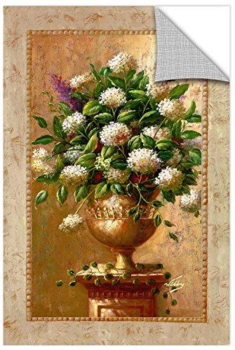 Leinwandbild Vase I