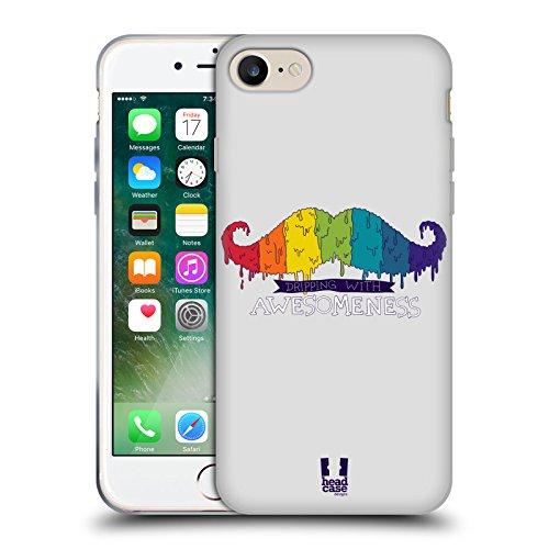 Head Case Designs Daisy Fiori Romantici Cover Morbida In Gel Per Apple iPhone 7 Plus / 8 Plus Arcobaleno Che Cola