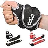 HANSSON.SPORTS Gewichtsmanschetten Laufgewichte f. Hand-Gelenke - schwarz 2x1,5kg
